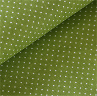 Picture of Little White Dots - S - Army Green