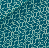 Picture of Skew Cube - M - Turquoise