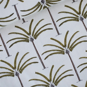 Picture of Palms - French Terry - Blanc Cassé