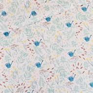 Picture of Flower Garden - S - Cotton Gabardine Twill - Rose Water