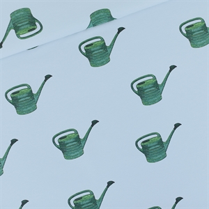 Picture of Watering Cans - M - French Terry - Bleu Brouillard