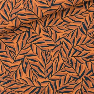 Picture of Leaves - M - Viscose - Rayon - Jaune Daim