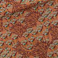 Image de Gilly Flowers - M - Cotton Canvas Gabardine Twill - Brun coup de soleil